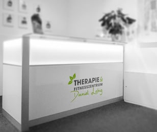 Empfang im Therapie- und Fitnesszentrum Daniel Lebig